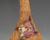 Bud Vase with Organic Fiber Study