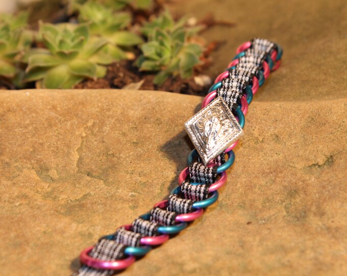 The Dundee Bracelet - Highland Dance edition - Menzies - Pink & Blue