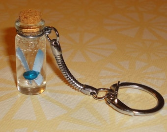 Zelda - Fairy in a Bottle Keychain - Choose Any Color