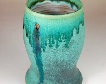 Turquoise Pint Glass - Made to Order