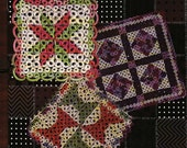 Tatted Quilt Squares Pattern Book, Billie Heisler and Handy Hands