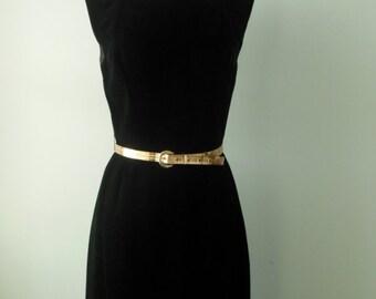 Suzy Perette dress • black 1950s dress • velvet 50s party dress