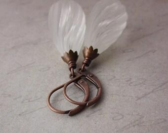 Twisted Frost Earrings