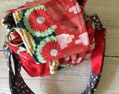 Padded Modern Patchwork Camera Bag by Watermelon Wishes