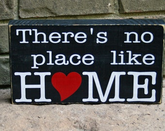 Wooden Block: There's no place like home