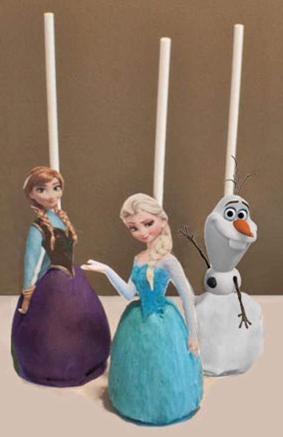 Disney Frozen Cake Pop Topper