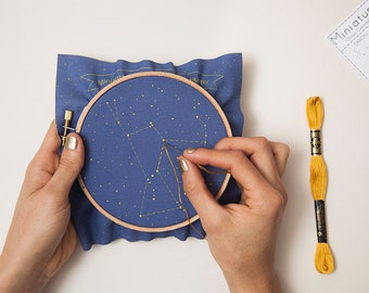 Orion Constellation Embroidery Kit