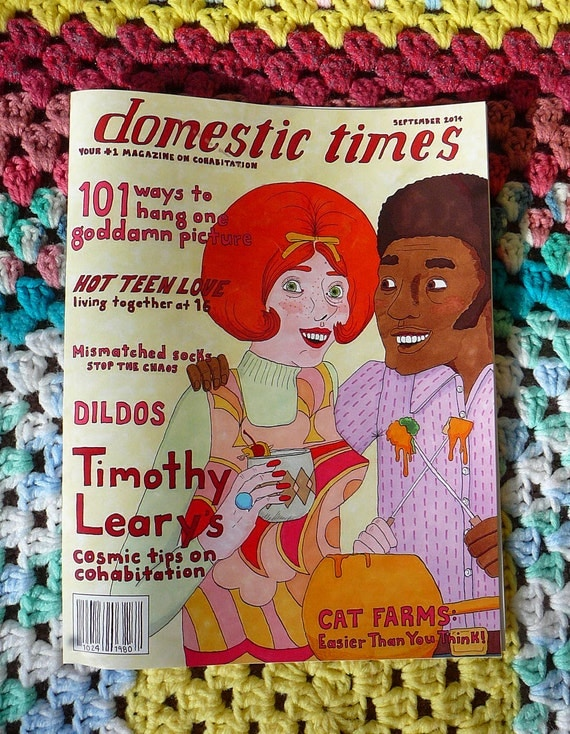Domestic Times Issue 1 - Comicbook