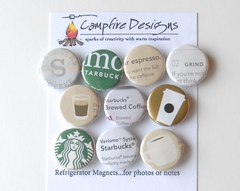 STARBUCKS Magnets VARIETY PACK 3 - Refrigerator Magnets