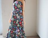 flower dress  for momoko blythe doll