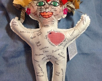 """HOLD FOR """"VASUDAVEN"""" Ache and Pain Doll"""