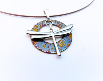 BRANCHES - Kinetic Dragonfly Charm