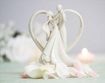 Stylized Dancing Wedding Cake Topper - 707515