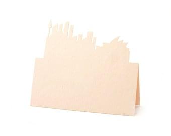 Sydney Australia Place Cards set of 10 - Escort Cards,Wedding Place Cards,Skyline,Sydney Opera House,Table Numbers,Bridal,Rustic Wedding