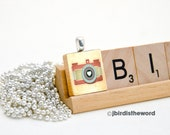 Cute Antique Camera - Camera Pendant - Scrabble Pendant - Camera Necklace - Camera Charm - Camera Pendant- Camera Jewelry