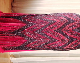 Belly dance panel skirt - Flapper 20s - YOUR SIZE