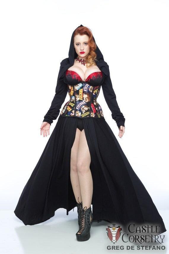 Dracula Long Line Corset