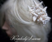 Beach Wedding Starfish Hair Accessory Comb (Bungalow Knobby Starfish Style). In Stock. Ready to Ship