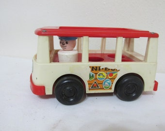 Fisher Price Little People Mini Bus with Driver