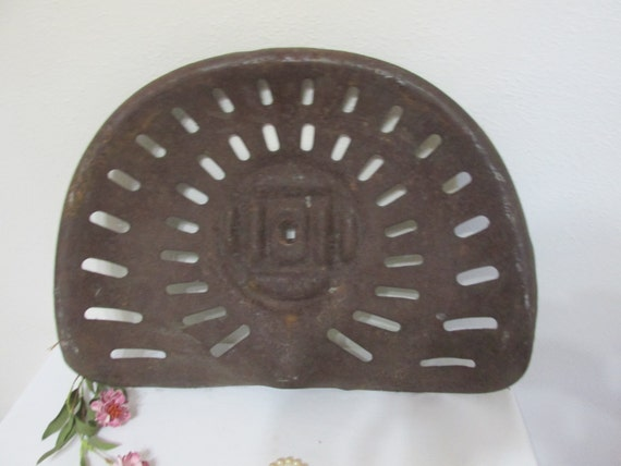 Used Metal Tractor Seats : Metal tractor seat