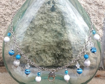 Treasure Keeper Necklace - Winters Lady Teal