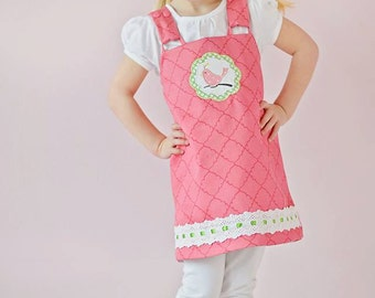 Girl Dress SEW MOD Reversible Jumper Sizes 2-8 Easy Beginner Sewing Pattern