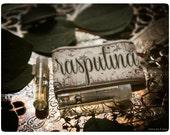 rasputina - natural perfume oil sampler pack - 2 vial sampler pack - primary notes: davana, benzoin resin & honey cakes