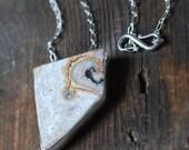 Dollybird Amoeba Necklace Collector Dryhead Agate