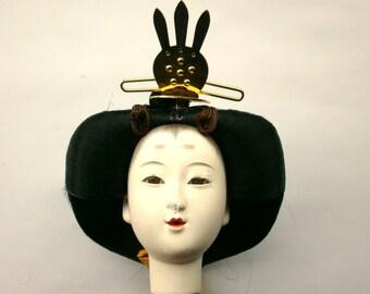 Japanese Doll Head Hina Matsuri Girl Doll (D4-25) Hina Ningyo Queen