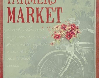 Farmer's Market 11x14 art print