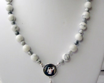 Saint Faustina necklace - N1006