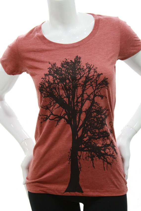 Oak Tree| Women's scoop & V neck T Shirt| Slim cut| art by MATLEY| Tree Hugger| Soft Lightweight| Fitted Tee| Gift for her| Zen| Yoga.