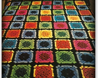Crochet Afghan or Bedspread Pattern - PDF 11263243