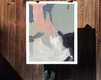 Underpinning .  extra large wall art . giclee print