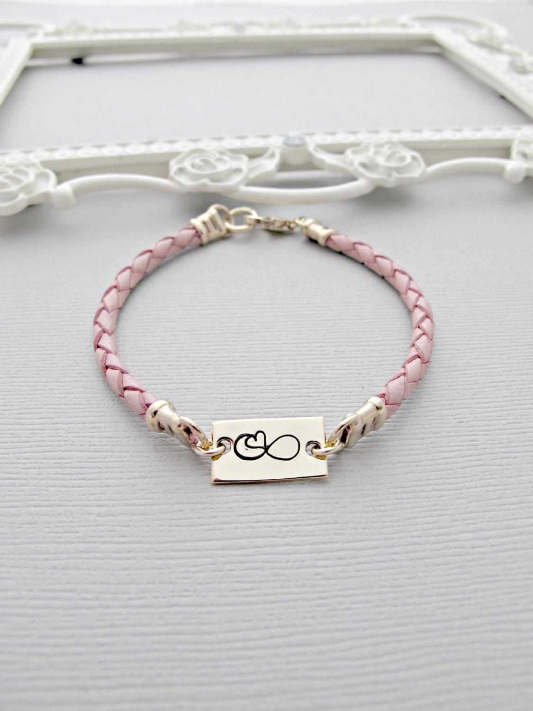 infinity bracelet friendship bracelet by vonmeyerjewelry