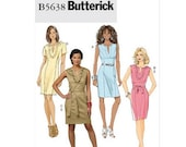 Sew & Make Butterick B5638 SEWING PATTERN - Womens Fitted Sleeveless Dresses sz 16-22
