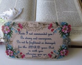 Joshua 1 Christian Bookmark, Religious Scripture Bookmark for men or women - Laminated - Be of Good Courage - 1 Bible Bookmark