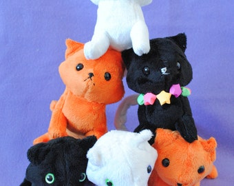 Cat Plushie CHOOSE YOUR COLOR - Made to Order