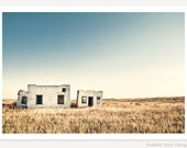 Few And Far Between - Western Art Photography - Abandoned Building Photo - Rustic Decor - Colorado Photograph - Minimalist Art