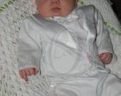 Jameson / Christening / Blessing Baby Boy Romper