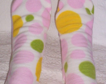 Ladies/Women's Bed Socks, Rainboot Socks, Gifts for Her under 10.00 Dollars, Senior Citizen Gift