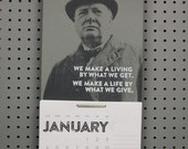 2015 Calendar: Churchill - screenprint