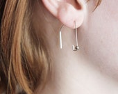 Lucille // handcrafted eco friendly earrings in recycled sterling silver
