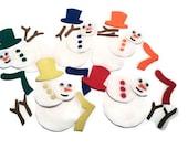 Matching color busy bag, snow man felt, snow man busy bag, busy bag, educational toy, busy bag, kids learning, felt toys, winter busy bag