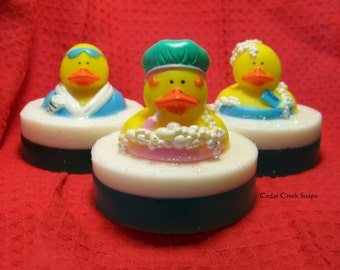 Rubber Ducky Soap~ Bedtime Bath type Scented Gentle Soap for Children