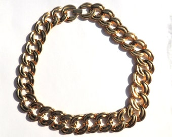 Vintage Napier Necklace Designer Thick Chain Vintage Jewelry