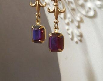 Jane Austen Jewelry - Regency Earrings - 18th Century Jewelry - Janeite - Gothic Earrings - Downton Abbey Jewelry - Victorian Earrings
