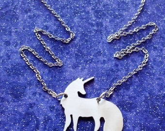 Unicorn Necklace or Pendant