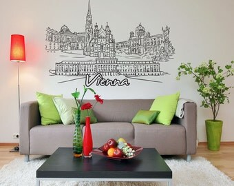 Vinyl Wall Decal Sticker Vienna 1389s