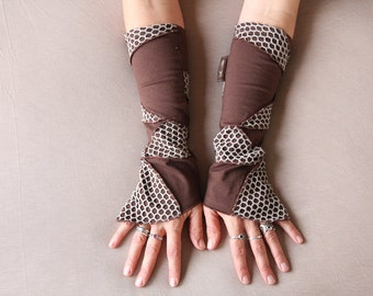 Patchwork  Armwarmers